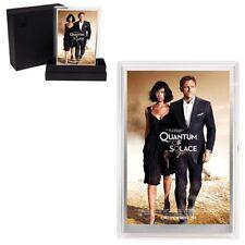 2020 5 gram Silver Foil James Bond 007 Quantum of Solace Movie Poster Perth Mint