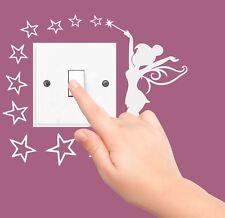 FAIRY STARS disney sticker plug SWITCH LIGHT SURROUND bedroom WALL ART DECAL