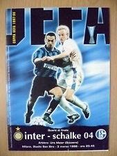 1997/98 UEFA Quarter Final - INTER v SCHALKE 04
