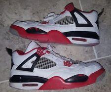 Nike Air Jordan Retro 4 Fire Red 2012 Authentic US7.5 UK6.5