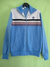 Veste Adidas 70'S Vintage Ventex bleu ciel Trefoil jacket Tracksuit - 174 / M