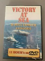 Victory at Sea:2-Disc Set (Dual Sided) 26 Full Length Episodes 12 Hour's on DVD