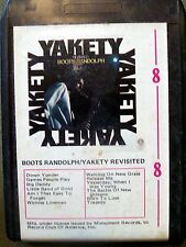 BOOTS RANDOLPH YAKETY REVISITED 8 TRACK MONUMENT 18128-8 VINTAGE