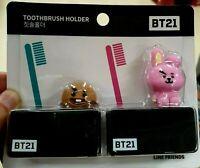 [BTS] BT21 LINE FRIENDS Official  toothbrush holder- cooky. shooky