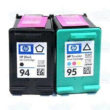 2 Genuine HP 94/95 Black-Color Ink DeskJet 460 6620 Photosmart 7850 8150 8750