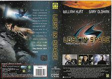 LOST IN SPACE - PERDUTI NELLO SPAZIO (1998) vhs ex noleggio
