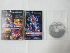 E580 Nintendo GameCube Custom Robo Battle Revolution Japan GC w/box bx