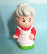 Fisher Price Little People Mrs Santa Claus North Pole Christmas Holiday New
