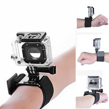 Accessories For GoPro Hero 1 2 3 3+ 4 Camera Wrist Strap Mount + Bolt + Pouch
