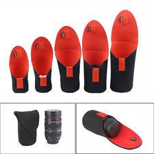 5pcs Neoprene DSLR Camera Lens Soft Protector Pouch Bag Case Set S+M+L+XL+XXL