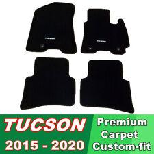 CARPET MATS TAILOR MADE CUSTOM FIT Hyundai Tucson 2015 - 2020 Current all models