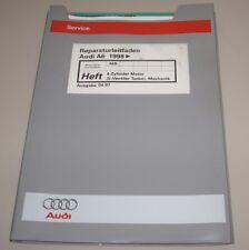 Werkstatthandbuch Audi A6 Typ C5 4B 4 Zylinder Motor 20V Turbo AEB ab 1998!