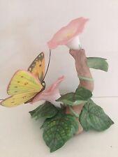 Lenox Fine Porcelain Butterflies Collection 1993 Orange Sulphur Figurine