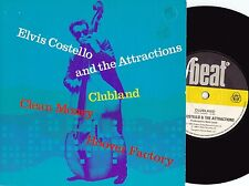 Elvis Costello & Attractions ORIG UK PS 45 Clubland VG+ 80 F Beat Alt Rock