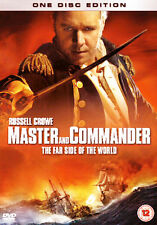 MASTER AND COMMANDER DVD Movie Film 1 Disc Ed plus FREE CASE UPGRADE!  *