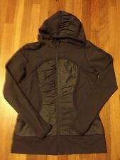 LULULEMON SZ 12 Pure Balance Jacket In Gray/Coal READ INTL SHIP