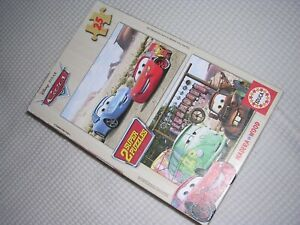 2 x CARS puzzles boxed and complete 25 pieces each v. good condition