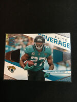 2019 Donruss Elite Leonard Fournette Elite Coverage Dual Patch Jersey Relic BY