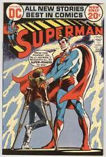 Superman #254 July 1972 NM/M Neal Adams art