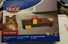 TRIXIE Mini Mover Interactive Pet Toy (Level 3) Red, Puzzle Toy