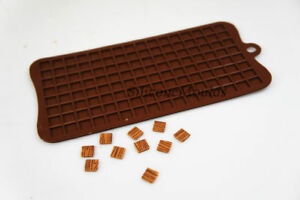 1cm Squares Pixels Tiles Mosaic Silicone Chocolate Mould Craft Cake Topper Games