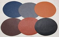 Faux Leather Elbow Patches x 2 Iron on, Washable Choice of Colours