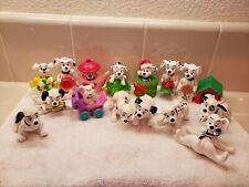 101 Dalmations McDonald's Disney Lot of 16 Figures Dogs Christmas turtle
