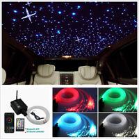 16W RGBW LED Fiber Optic Light Kit 300Pcs 3M Car Roof Ceiling Starry Sky Lights