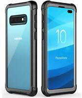 For Samsung Galaxy S10 Plus S10+ Case Slim Rugged Clear Bumper Heavy Duty Cover
