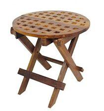 Runder Tisch- Beistelltisch Holz- Gartentisch, Campingtisch, Klapptisch, Kajüte