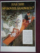 POSTCARD  HAS SHE MR BOVRIL SANDWICH