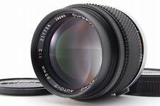 【AB Exc+】Olympus OM-System ZUIKO AUTO-T 85mm f/2 MF Lens w/Caps From JAPAN #3144
