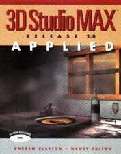 3D Studio Max Release 2.0 Applied with CDROM