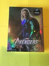 Avengers NovaMedia Full slip C Thor Bluray 3D 2D Steelbook NEW SEALED!