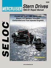 1964-1991 Mercruiser Stern Drives GM Ford 4 6 V6 V8 Seloc Repair Manual 0055