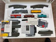 MÄRKLIN 29570 Startset Sound USA ALCO PA-1 grau Güterzug NEW YORK CENTRAL  Pe3