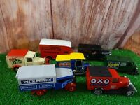 """Vintage x 7 mixed Matchbox diecast 4"""" cars special edition delivery car  lot E7"""