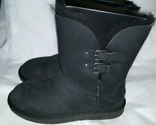 NEW IN BOX  WOMEN'S UGG 1012296 - RENLEY  BOOTS  BLACK SIZE  10