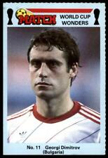 Match World Cup Wonders 1986 - Georgi Dimitrov (Bulgaria) No. 11