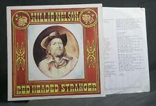 WILLIE NELSON – Red Headed Stranger LP Columbia – KC 33482 vinyl MINT