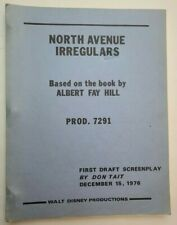 THE NORTH AVENUE IRREGULARS / Don Tait 1976 Screenplay, group of church ladies