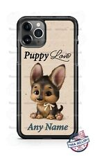 Puppy Love Cute Pet Dog Customized Phone Case For iPhone Samsung S20 LG Google 4