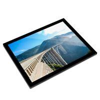 A3 Glass Frame - Bixby Bridge California USA Art Gift #3105