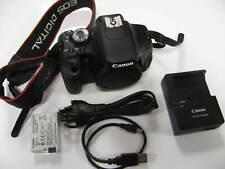 Canon EOS 600D Digitalkamera - Schwarz - Body - nur 6291 Auslösungen