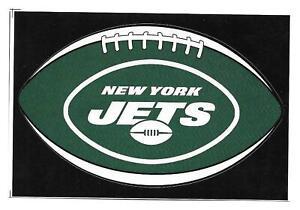 (20) New York Jets NFL Football Shape Vending Machine Stickers