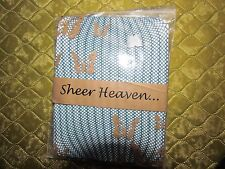 Blue Fishnet Tights  By Sheer Heaven- One Size