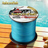 Japanese Super Strong PE Braided Fishing Line 500M Multifilament Blue 6-100LBS