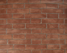 Exclusive Rustic Red Natural Brick Slate Wallpaper (2050013)