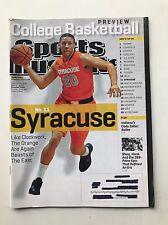 Sports Illustrated Magazine November 12 2012 College Basketball No 11 Syracuse