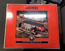 LIONEL 6-21775 - LIONEL TRAIN WRECK RECOVERY SET - NEW